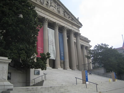 National Archives - from sidewalk