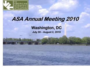 Photo for ASA Meeting